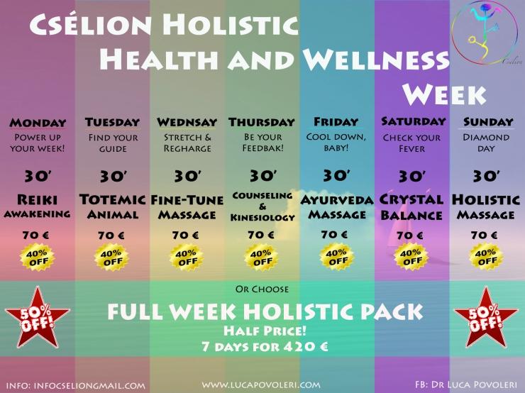 Cselion Holistic Health and Wellness Week