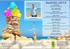 Agenda Conferencias y Cursos - Agosto 2014 - AyurVida (1)