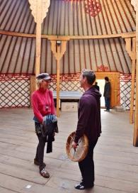 Featherless Shaman Group Meditation in Mongolian Yurta